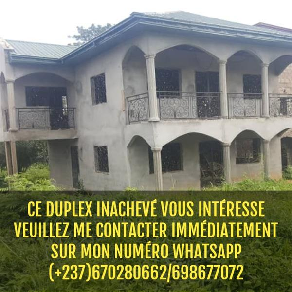 Duplex InachevГ© ГЂ Vendre YaoundГ© Mfou
