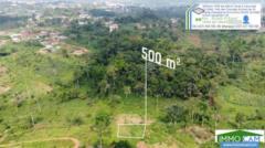 Terrain Titré De 500 M² Situé À Yaoundé-Olembe,, Yaoundé, Cameroon Real Estate