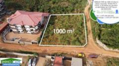 Terrain Titré De 1000 M² Situé À Yaoundé-Odza, Lieu-Dit Fecafoot,, Yaoundé, Cameroon Real Estate