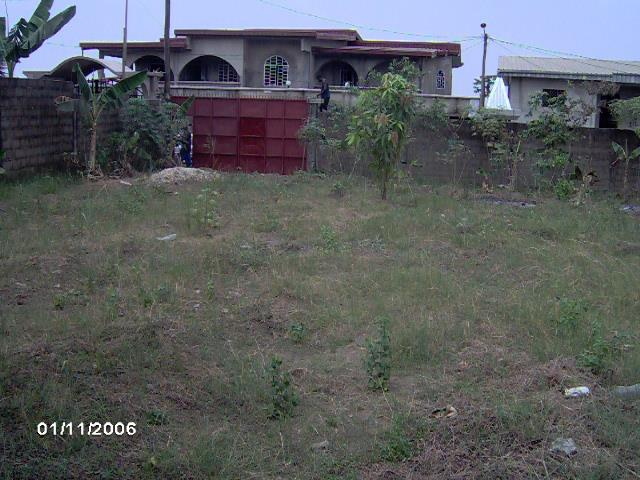 •500M2 titré à vendre dans un quartier résidentiel à Ndogbong